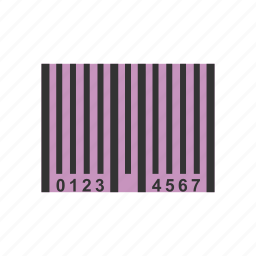 bar, code, coupon, data, information, label, number icon