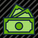 cash, e-commerce, finance, money, online shop, payment, shopping icon