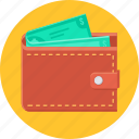 cash, money, payment, save, savings, wallet icon