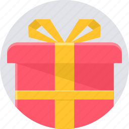birthday, box, celebration, gift, package, parcel, party icon