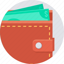 currency, money, pay, payment, save, savings, wallet icon