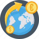 convert, currency, bank, exchange, forex, money, transfer icon