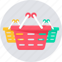 basket, cart, shop, shopping, store icon