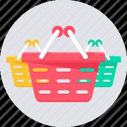 basket, cart, shop, shopping, store icon