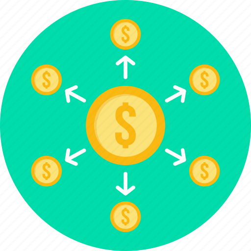 banking, dollar, finance, money, payment, shopping, transaction icon