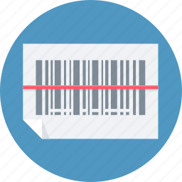 barcode, code, product code, scan icon
