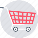 cart, basket, buy, shop, shopping, store, trolley icon