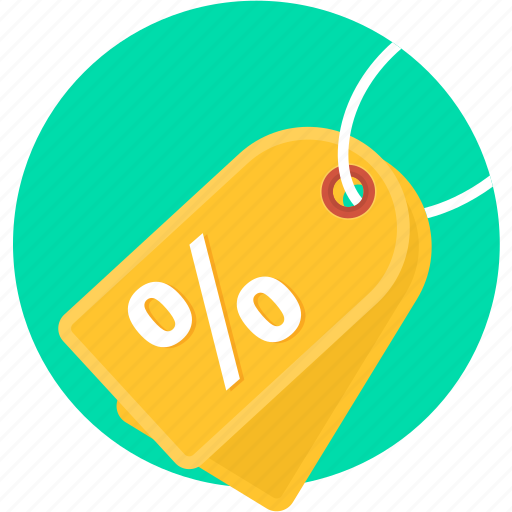 business, label, offer, percentage, price, sale, tag icon