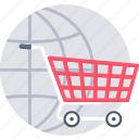 cart, ecommerce, online cart, buy, internet shopping, shopping icon