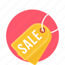 sale, tag, discount, label, offer, price, shop icon