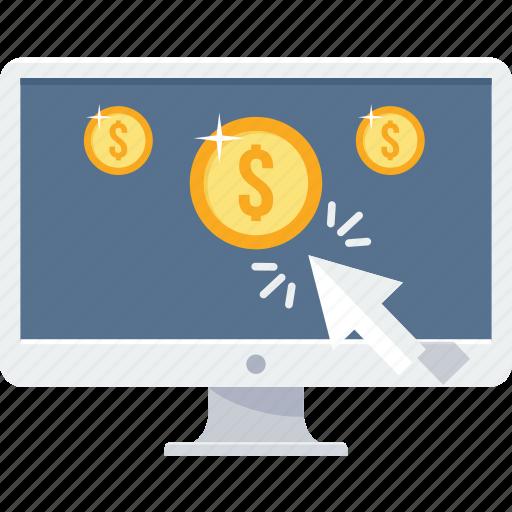 marketing, online, optimization, pay per click, ppc, seo, web icon
