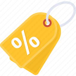 discount, label, offer, percentage, price, sale, tag icon