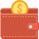 cash, guardar, money, save, saving, savings, shopping, wallet icon