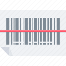 bar, barcode, code, product, programming, scan icon