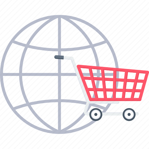 cart, online, shop, shopping, trolley, web, website icon