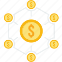 budget, cash, dollar, funds, money, payment, revenue icon