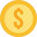 bank, cash, dollar, finance, money, payment, profit icon