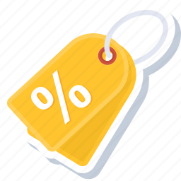 discount, label, offer, percentage, price, tag, tags icon