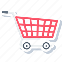 basket, buy, cart, sale, shop, shopping, trolley icon