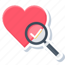 care, heart, love, romantic, sign, wish, wishlist icon