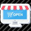 desktop, shop, shopping, web, website, buy, ecommerce