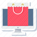 bag, cart, ecommerce, online, shop, shopping, website shopping icon