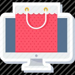 bag, cart, ecommerce, online, shop, shopping, website shopping icon