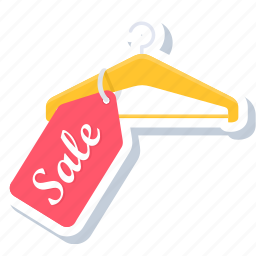 hanger, label, price, sale, sign, tag, tags icon