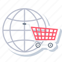 business, ecommerce, internet, online, seo, shopping, web icon