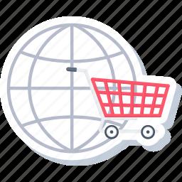 business, ecommerce, internet, online, seo, shopping, web icon