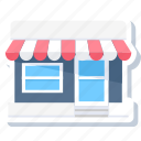 commerce, market, merchant, open, shop, store, super market icon