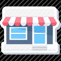 commerce, market, merchant, open, shop, store, super market icon