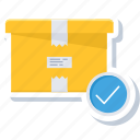 box, delivery, pack, package, parcel, shipping icon