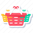 basket, baskets, buy, cart, purchase, shop, shopping icon