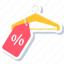 discount, label, offer, percentage, sign, tag, tags icon