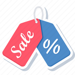 discount, offer, percent, percentage, sale, tag, tags icon