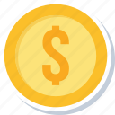bank, cash, dollar, finance, financial, money, payment icon