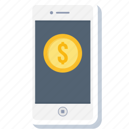 app, dollar, money, pay, payment, phone, smartphone icon