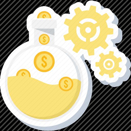 bank, decisions, financial, management, revenue icon