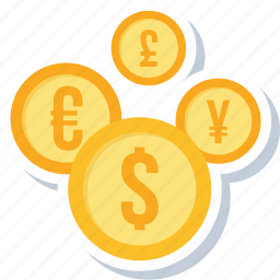 bank, banking, convert, currency, euro, financial, money icon