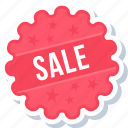 label, offer, sale, sign, sticker icon