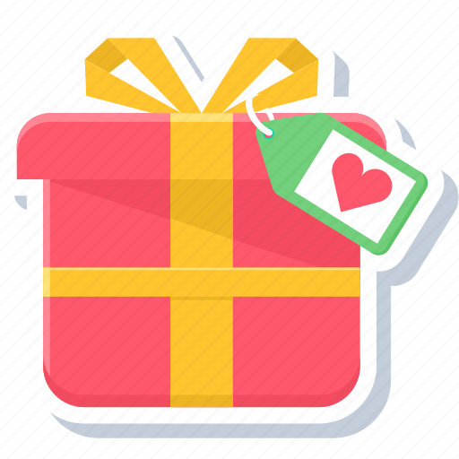 gift, love, present, romance, romantic, valentines, wedding icon