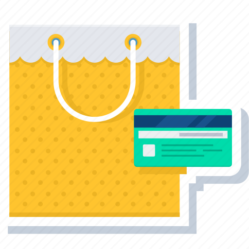 card, credit, payment, shop, shopping icon