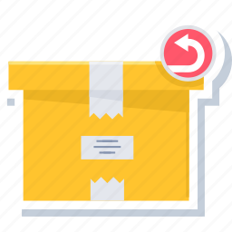 box, delivered, delivery, package, parcel icon