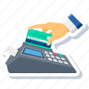 buy, card, ecommerce, pay, payment, shopping, swipe icon