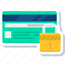 card, credit, debit, password, payment, secure, security icon