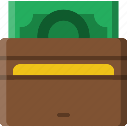business, shop, shopping, wallet icon
