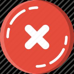 business, error, shop, shopping icon