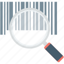 barcode, merchandise, online security, secure payment, shopping icon