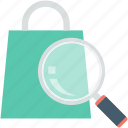 ecommerce, find gift, present, search, shopping, surprise search icon